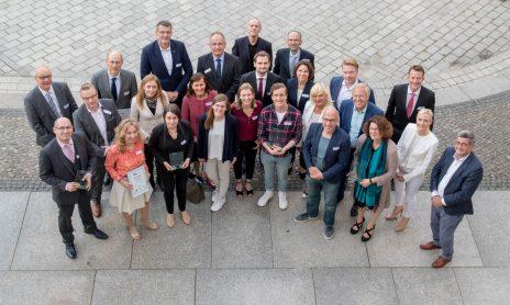 Gruppenbild Medienpreis Mittelstand 2019